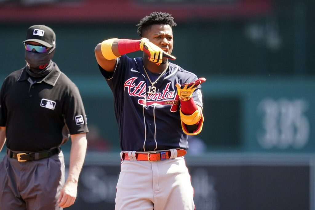 Acuña, Braves get 1st win; top Nats 7-6 to open doubleheader