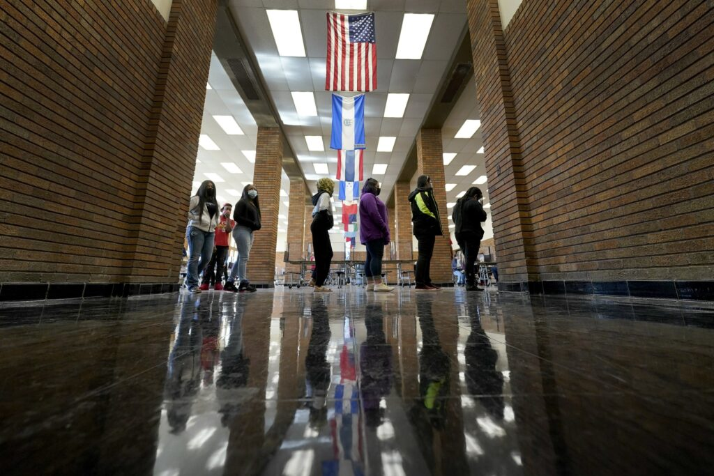 Classes resume in one of last still-virtual Kansas districts
