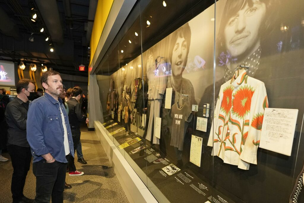 Kings of Leon tour Rock Hall, NFT exhibit before draft gig