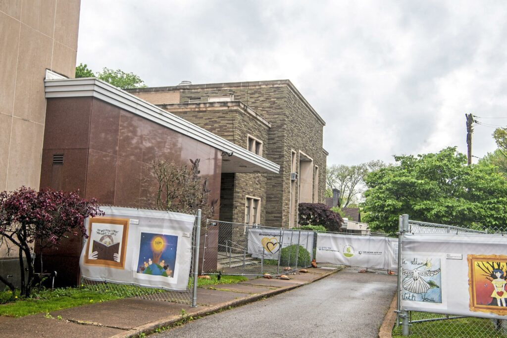 At synagogue targeted by violence, vision for transformation