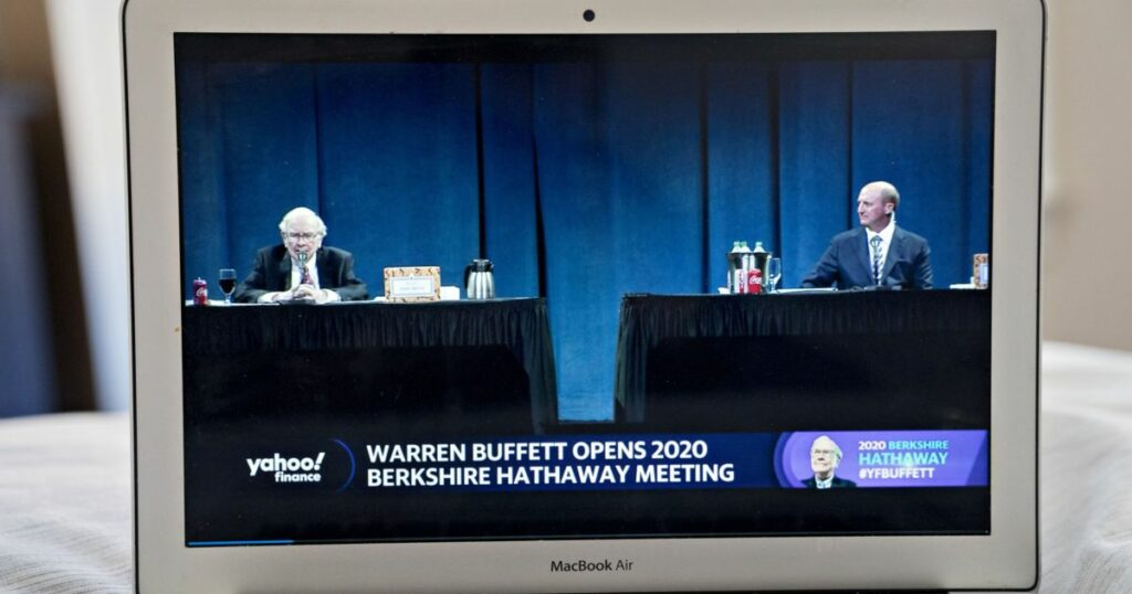 Buffett names Greg Abel as his likely successor at Berkshire | Business and Economy News