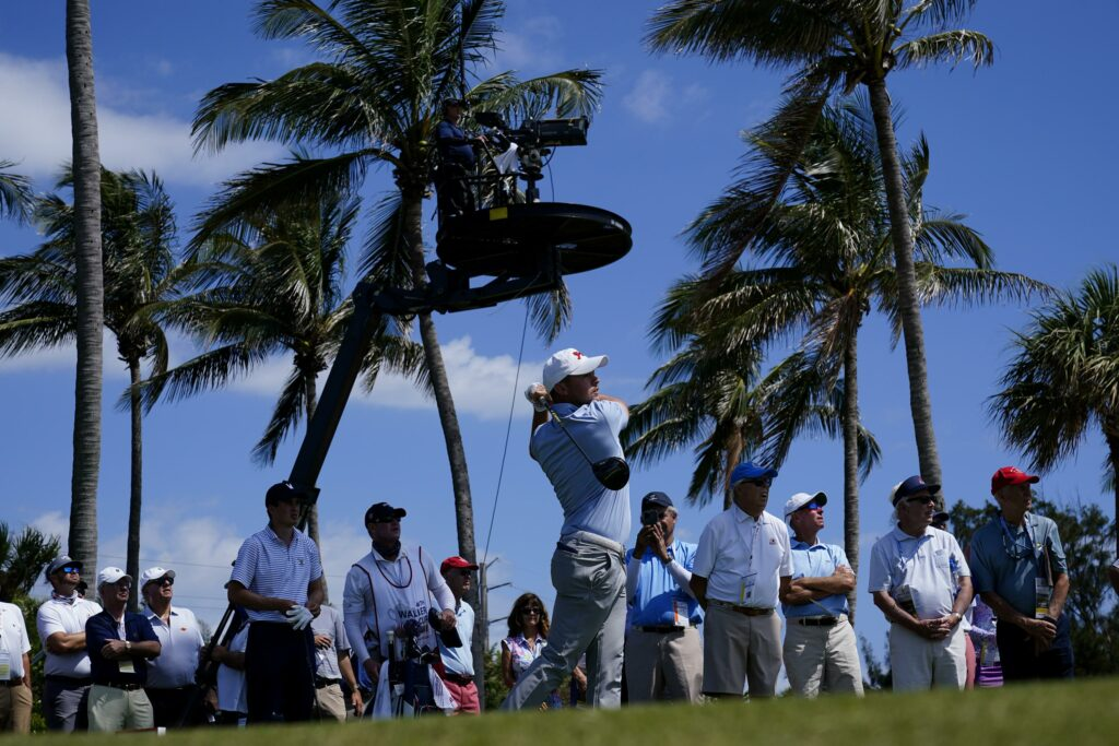 Hammer leads Americans to 7-5 lead in Walker Cup at Seminole