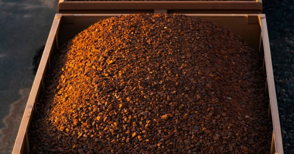 Hot commodities: Iron ore surges 10%, copper extends record run   Business and Economy News