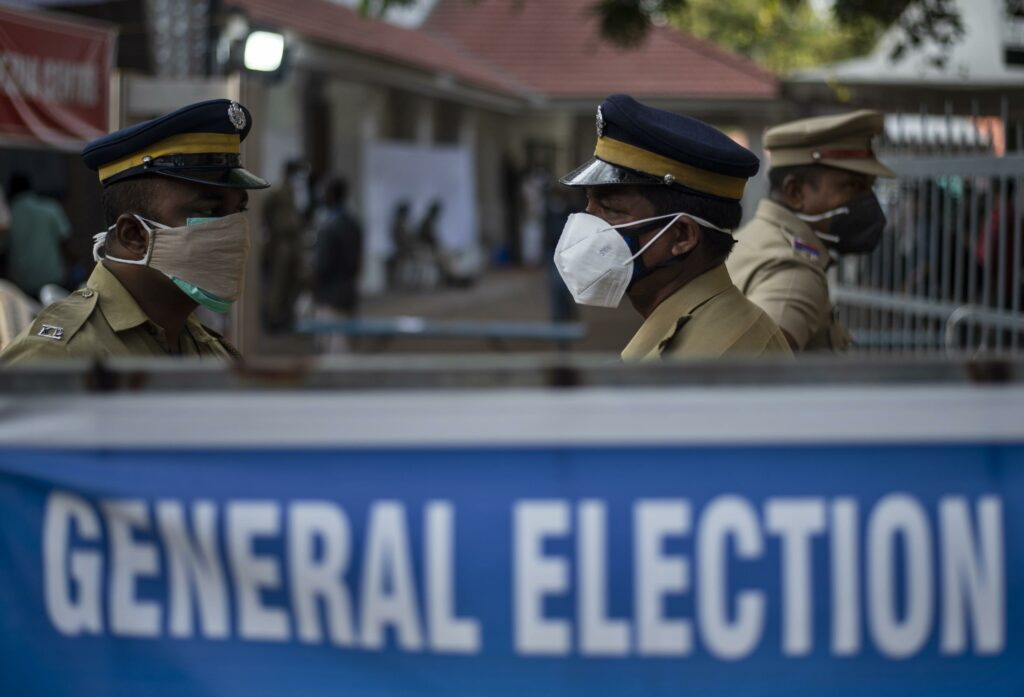 Indian leader's party takes electoral hit amid virus surge