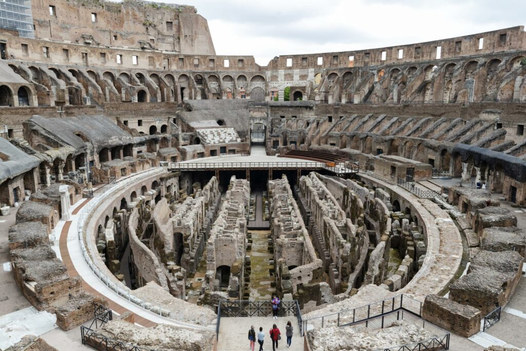 New stage in Rome's Colosseum will restore majestic view