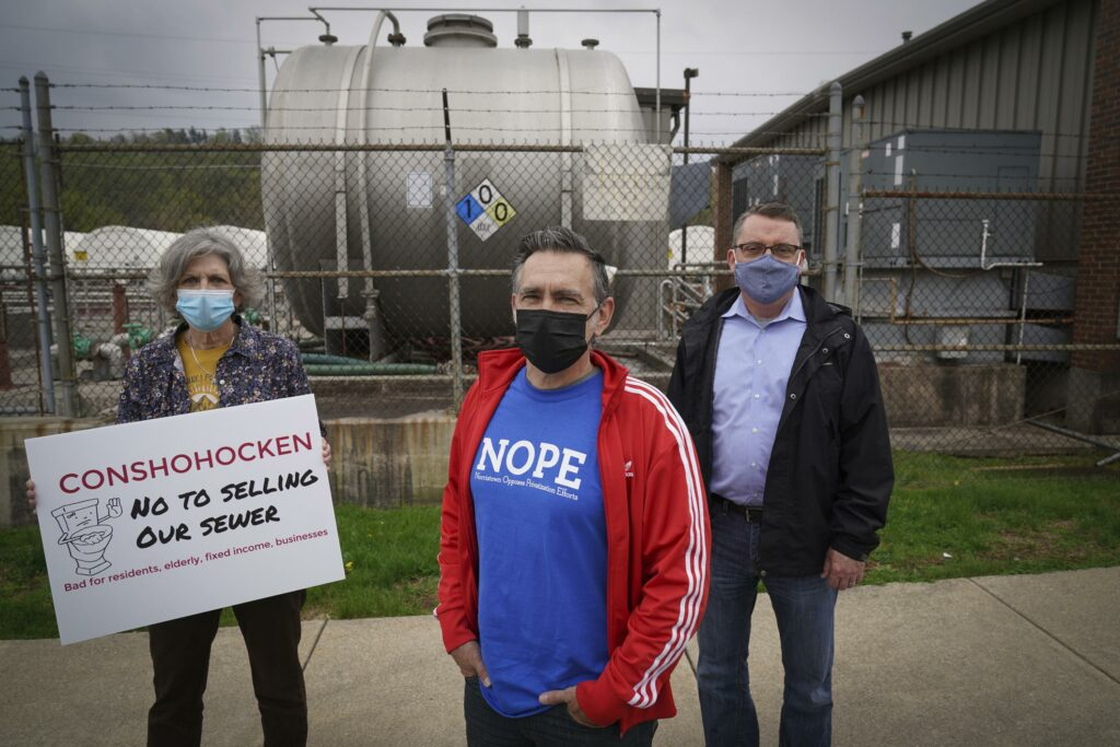 Residents push back against sewer system sales, fearing cost
