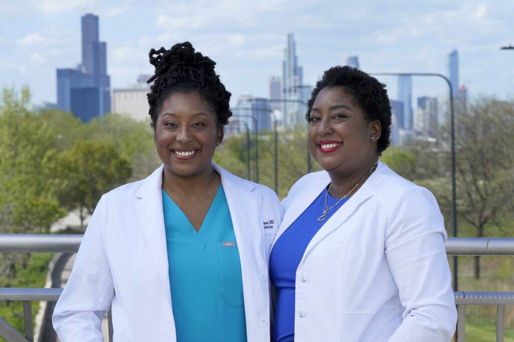 Twin MDs battle entrenched racism in the medical world