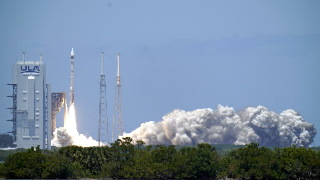 US Space Force missile-warning satellite rockets into orbit