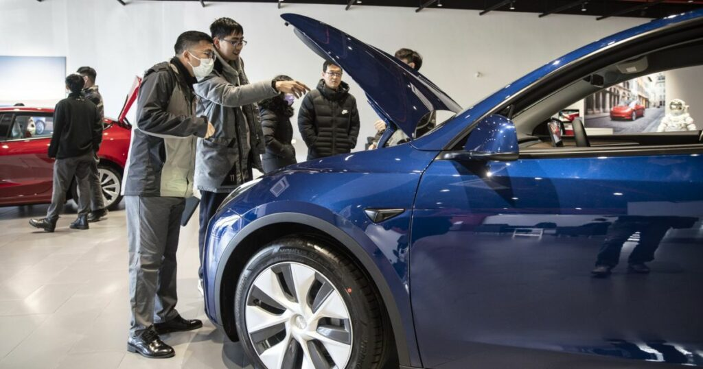 Sales of Tesla EVs made in China surged 29 percent in May   Automotive Industry News