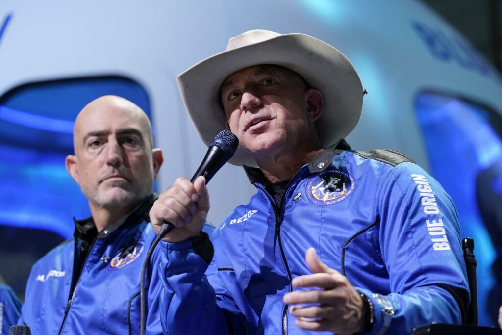 Bezos' comments on workers after spaceflight draws rebuke