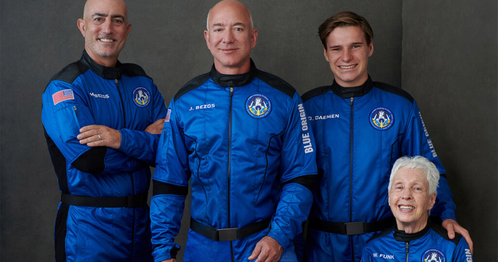 Big day for Bezos: Blue Origin safely lands first crewed mission   Space News