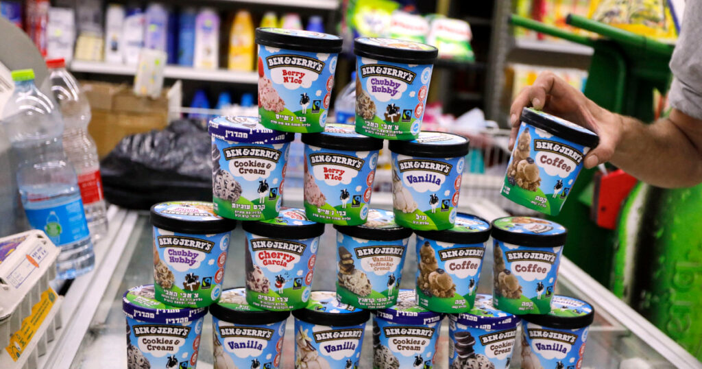 Israel will 'act aggressively' over Ben & Jerry's ban, PM says | Boycott Divest and Sanctions News