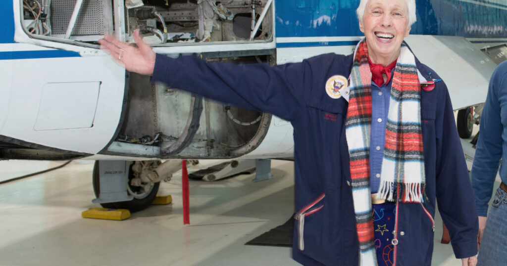 Trailblazing pilot Wally Funk is finally going to space   Space News