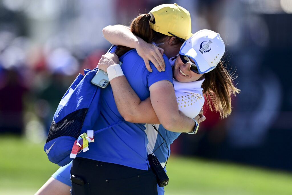 Back to back; Europe rides rookies to Solheim Cup win