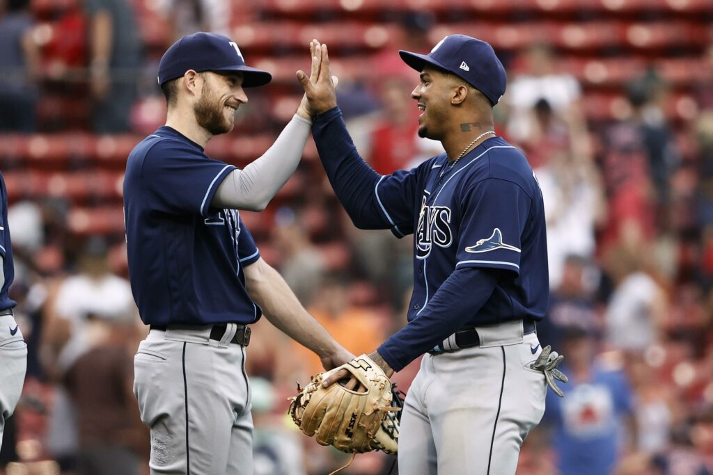 Meadows helps Rays rally for wild 11-10 win over Red Sox