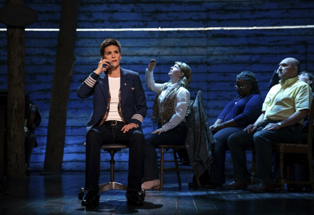 Tears triggered at filming of stage musical 'Come From Away'